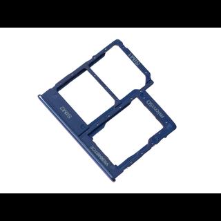 Samsung A405F/DS Galaxy A40 Sim + Speicherkarten Halter, Blau, GH98-44303C