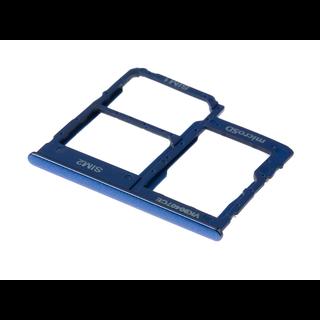 Samsung A405F/DS Galaxy A40 Sim + Memory Card Tray Holder, Blue, GH98-44303C