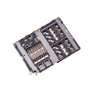 Samsung A405F/DS Galaxy A40 MicroSD kaartlezer connector, 3709-001936