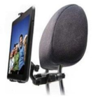 Universal 2-in-1 Headrest Tablet Car Holder from [Rebeltec] - Black