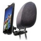 Universele 2-in-1 Hoofdsteun Tablet Auto Houder van [Rebeltec] - Zwart