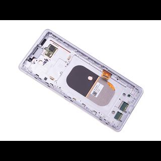 Sony Xperia XZ3 H8416 Display, Silber Weiß/Silver White, 1315-5027