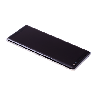 Sony Xperia XZ3 H8416 Display, Zilver Wit/Silver White, 1315-5027