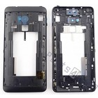 HTC Middle Cover One Max T6, Black