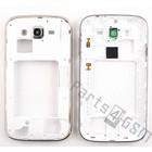 Samsung Middenbehuizing I9060 Galaxy Grand Neo, Wit, GH98-30372A [EOL]