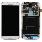 Samsung Galaxy S IV /S4 i9505 Internal Screen + Touchscreen + Frame White GH97-14655A;GH97-14694A