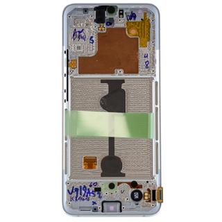 Samsung A908B/DS Galaxy A90 5G Display, White, GH82-21092B