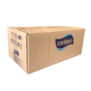 Ice fresh Hand gel Sanitizer with 80% alchohol - 250ml - 24 pack
