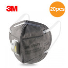 3M 9541V KN95 Face Mask with exhalation Valve - Earloop - 20 Pack