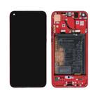 Huawei View 20 Display, Phantom Red/Rot, Incl. Battery HB436486ECW, 02352JKR