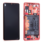 Huawei P30 Pro Dual Sim Display, Amber Sunrise/Rood, 02352PGK