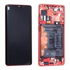 Huawei P30 Pro Dual Sim Display, Amber Sunrise/Rot, 02352PGK