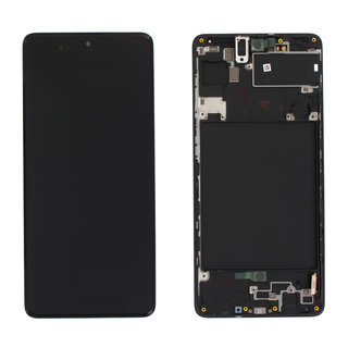 Samsung A715FN/DS Galaxy A71 Display, Black, GH82-22152A;GH82-22248A
