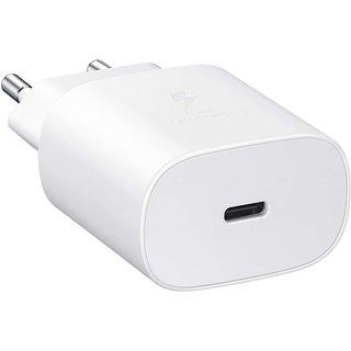 Samsung USB Type-C Charger, EP-TA800XWEGWW, White, 25W, GH44-03055A