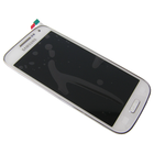 Samsung  i9195 Galaxy S IV Mini / S4 Mini Interne Beeldscherm + Digitizer, Touchpanel Glas, Buitenvenster + Frame Wit GH97-14766B5/5