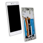 Nokia 3 Dual Sim (TA-1032) LCD Display Modul, Weiß, TYPE-B, 20NE1SW0003