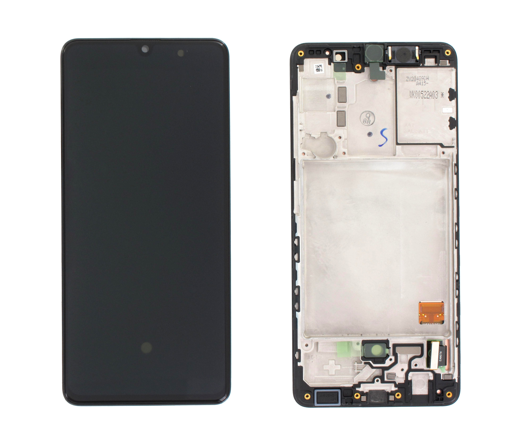 Samsung Galaxy A41 Display, Zwart, GH82-22860A;GH82-23019A