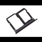 LG LMQ610 Q7+ Sim + Memory Card Tray Holder, Black, ABN75618301