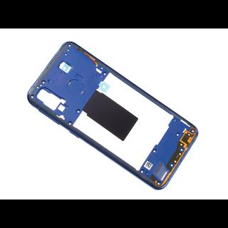 Samsung A405F/DS Galaxy A40 Mittel Gehäuse, Blau, GH97-22974C