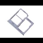 Samsung Galaxy A40 Sim + Memory Card Tray Holder, White, GH98-44303B