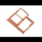 Samsung Galaxy A40 Sim- + Geheugenkaart Houder, Coral/Oranje, GH98-44303D