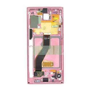 Samsung N970F Galaxy Note10 Display, Aura Pink, GH82-20818F;GH82-20817F