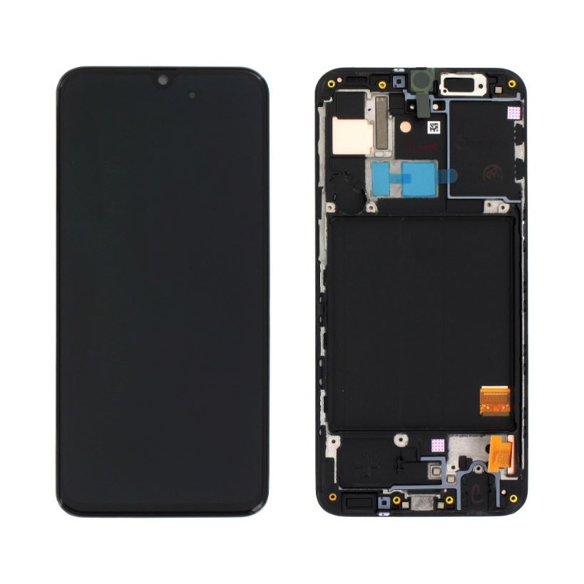 Samsung Galaxy A31 Display, Zwart, GH82-22761A;GH82-22905A