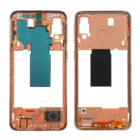 Samsung Galaxy A40 Middenbehuizing, Coral/Oranje, GH97-22974D