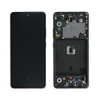Samsung Galaxy A51 5G Display, Prism Crush Black/Zwart, GH82-23100A;GH82-23124A