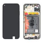 Huawei P40 Lite Display, Midnight Black/Zwart, 02353KFU