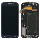Samsung LCD Display Module G925F Galaxy S6 Edge, Black, GH97-17162A;GH96-08223A;GH97-17334A