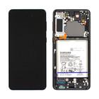 Samsung Galaxy S21+ 5G Display + Battery, Phantom Black, GH82-24744A;GH82-24555A