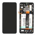 Samsung Galaxy A32 5G Display + Batterij, Zwart, GH82-25453A;GH82-25454A