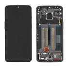 OnePlus 7 (GM1903) LCD Display, Zwart, Incl. frame, OP7-LCD-IN-BL