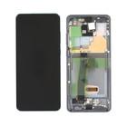 Samsung G988F/DS Galaxy S20 Ultra Display, Incl. Camera, Cosmic Grey, GH82-22271B;GH82-22327B