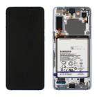 Samsung Galaxy S21+ 5G Display + Batterij, Phantom Silver/Zilver, GH82-24744C;GH82-24555C