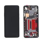 OnePlus 7 Pro (GM1913) LCD Display, Incl. frame, Mirror Gray/Grijs, OP7P-216550
