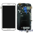 Samsung Galaxy Note 2 N7100 Intern Beeldscherm + Touchpanel Glas, Buitenvenster Raampje + Frame Wit GH97-14112A | Bulk vk4 r1 [EOL]