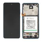 Samsung Galaxy A52 5G Display + Batterij, Awesome Blue/Blauw, GH82-25229B;GH82-25230B