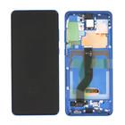 Samsung Galaxy S20+ 5G Display, Aura Blue/Blauw, GH82-22134H;GH82-22145H