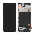 Samsung Galaxy A51 Display, Zwart, GH82-21669A;GH82-21680A;GH82-22084A