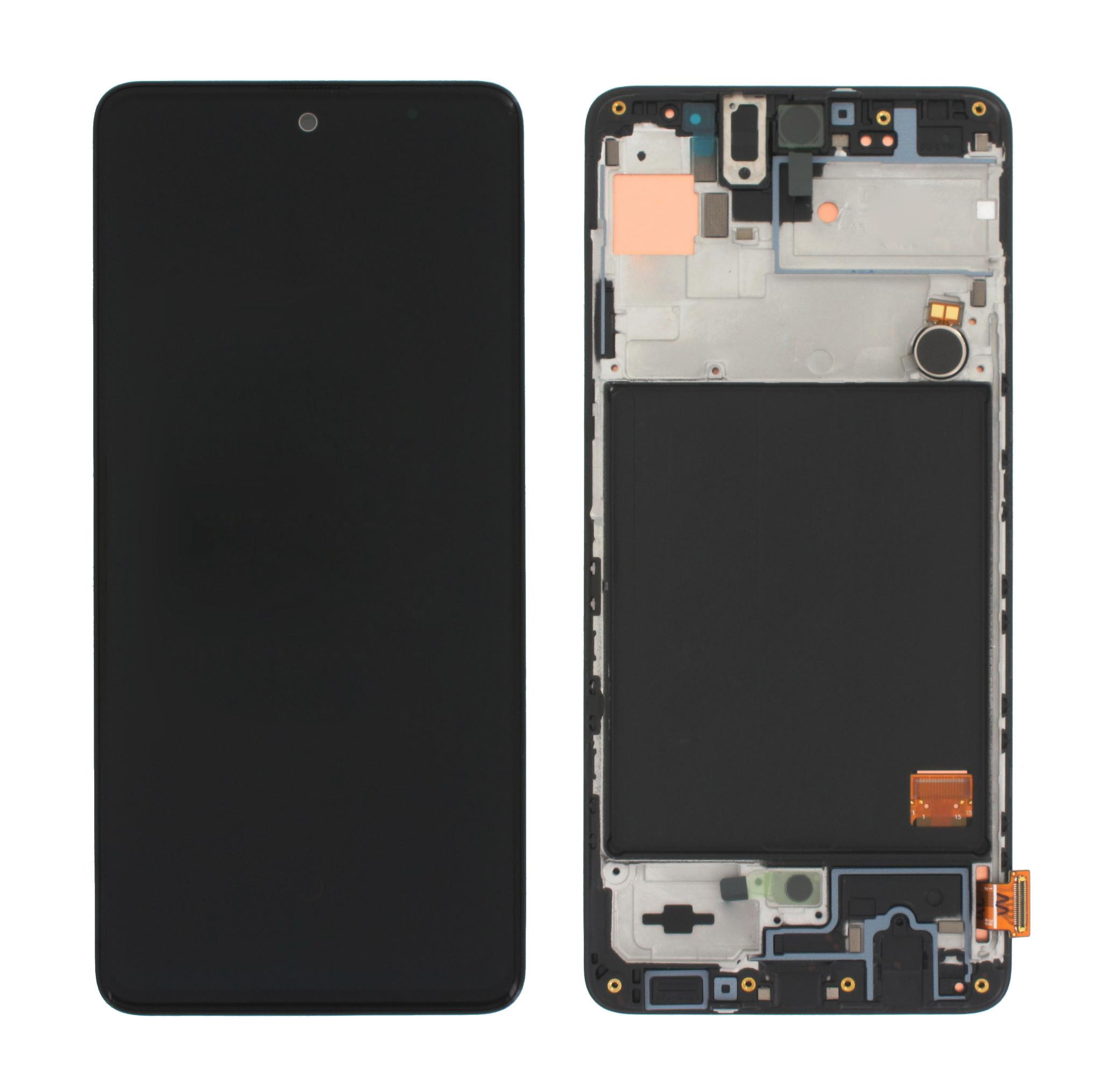 Samsung Galaxy A51 Display, Black, GH82-21669A;GH82-21680A;GH82-22084A