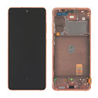 Samsung Galaxy S20 FE 5G Display, Cloud Orange/Oranje, GH82-24214F;GH82-24215F