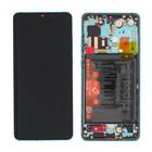 Huawei P30 Pro Dual Sim Display, Aurora Blue/Blauw, 02352PGE