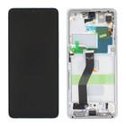 Samsung Galaxy S21 Ultra 5G Display, Phantom Silver/Zilver, GH82-26035B;GH82-26036B