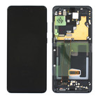 Samsung G988F/DS Galaxy S20 Ultra Display, Excl. Camera, Cosmic Black, GH82-26032A;GH82-26033A