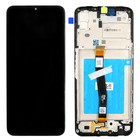 Samsung Galaxy A22 5G Display, Black, Incl. frame, tape for battery, GH81-20694A