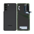 Samsung Galaxy S21+ 5G Battery Cover, Phantom Black, GH82-24505A