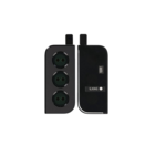 Samsung Galaxy S21+ 5G Camera Venster Frame, Phantom Black/Zwart, GH98-46213A