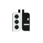 Samsung Galaxy S21+ 5G Camera Venster Frame, Phantom Silver/Zilver, GH98-46213C